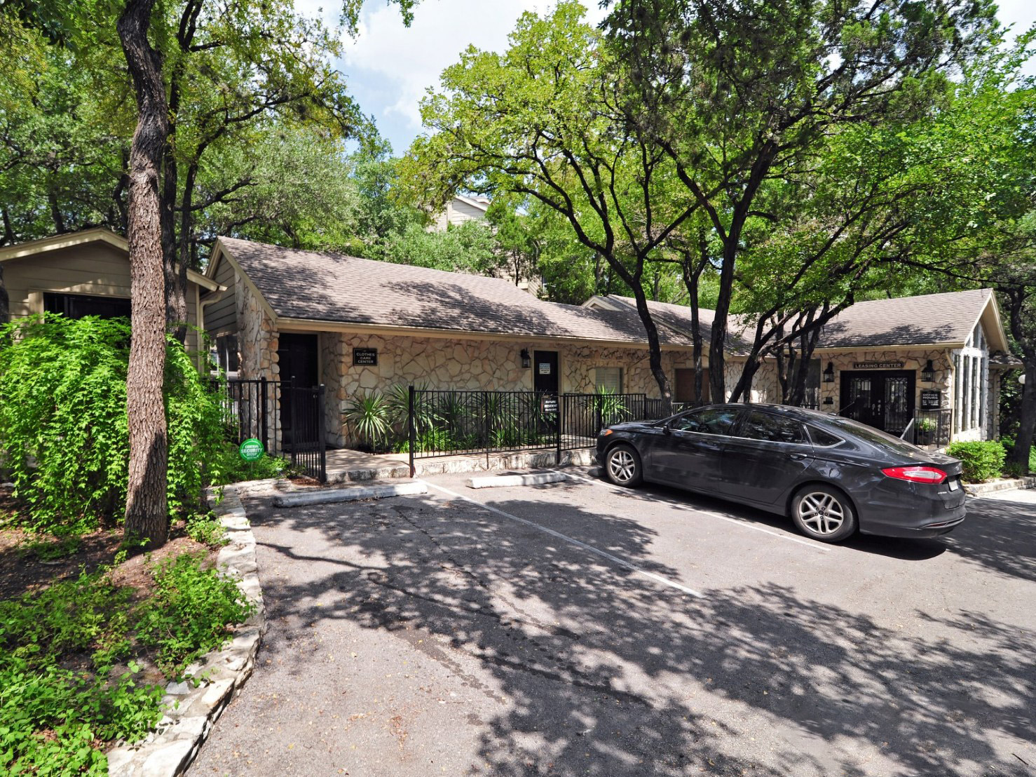 Gated Mail Center at Waters at Barton Creek Apartments in Austin, TX