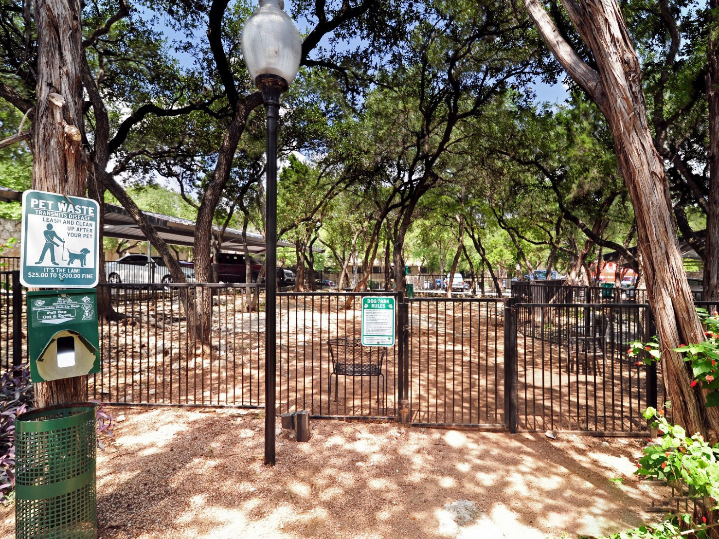 Pet Park at Waters at Barton Creek Apartments in Austin, TX