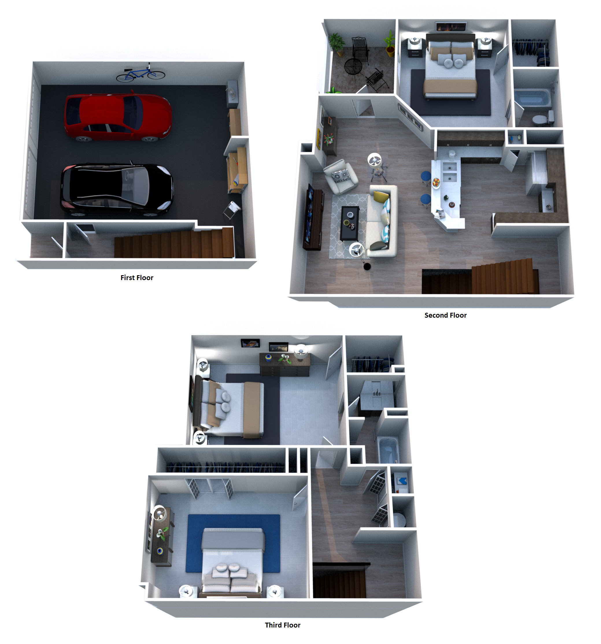 Floorplan - C5 San Michele - Townhouse image