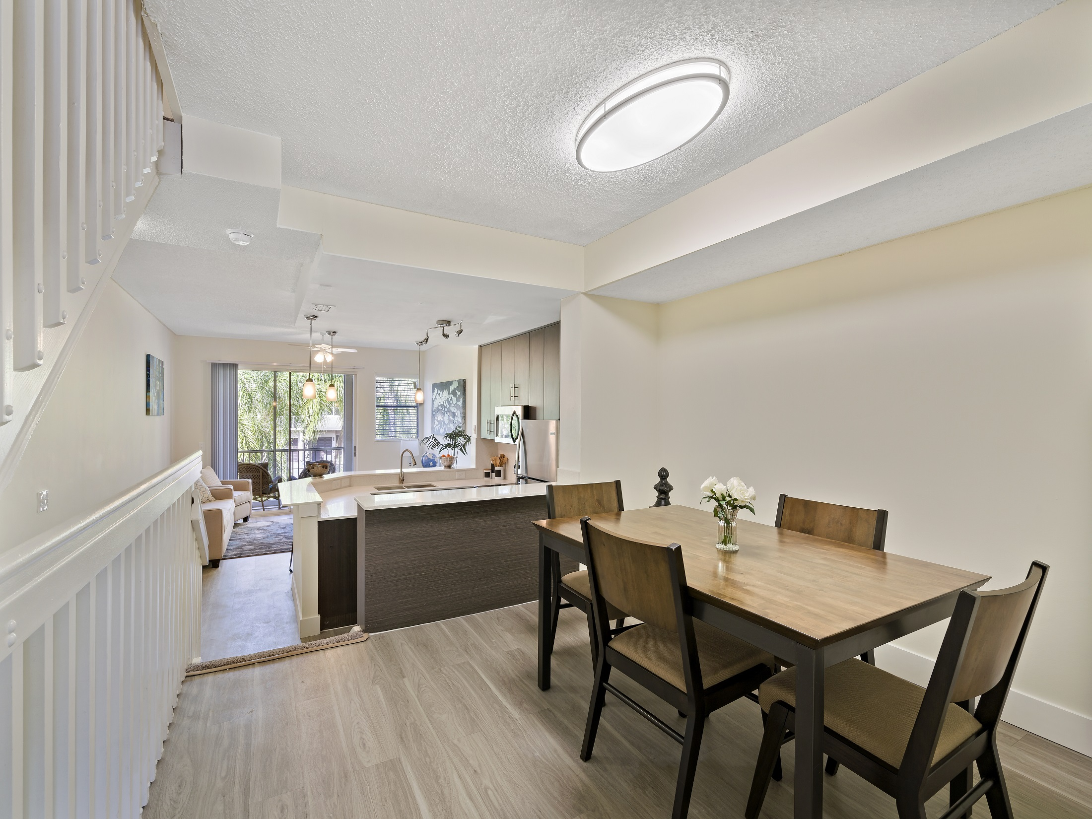 Designer Dining Room at Windsor Castle Apartments in Coral Springs, Florida