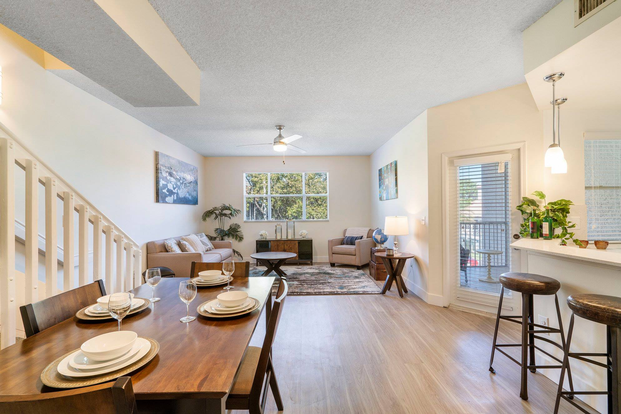 Open Floor Plans at Windsor Castle Apartments in Coral Springs, Florida