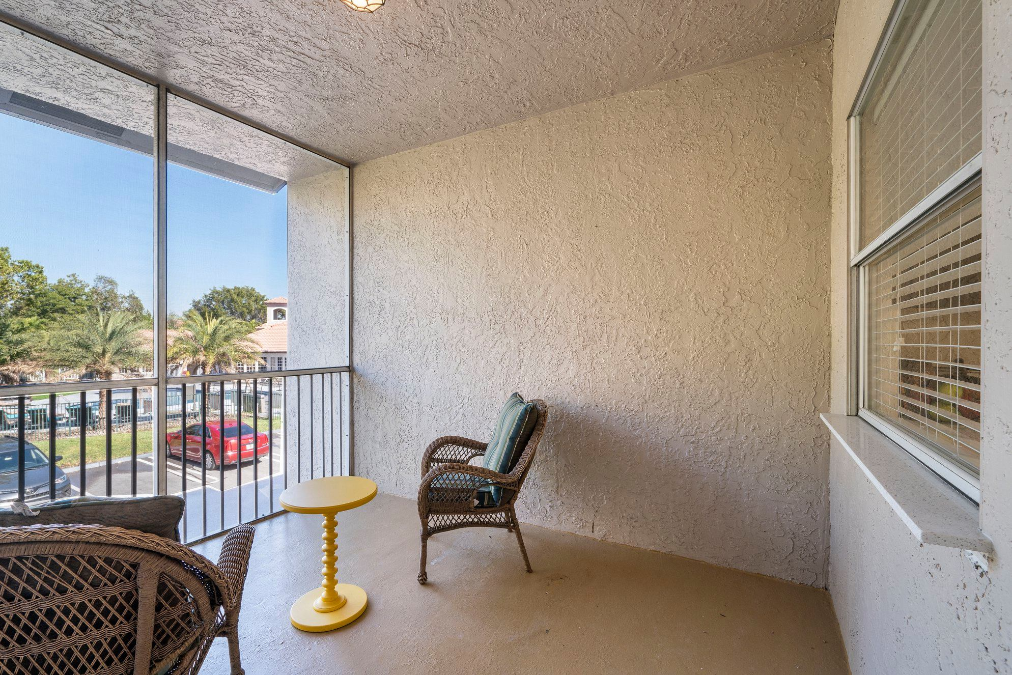 Beautiful Outdoor Spaces at Windsor Castle Apartments in Coral Springs, Florida