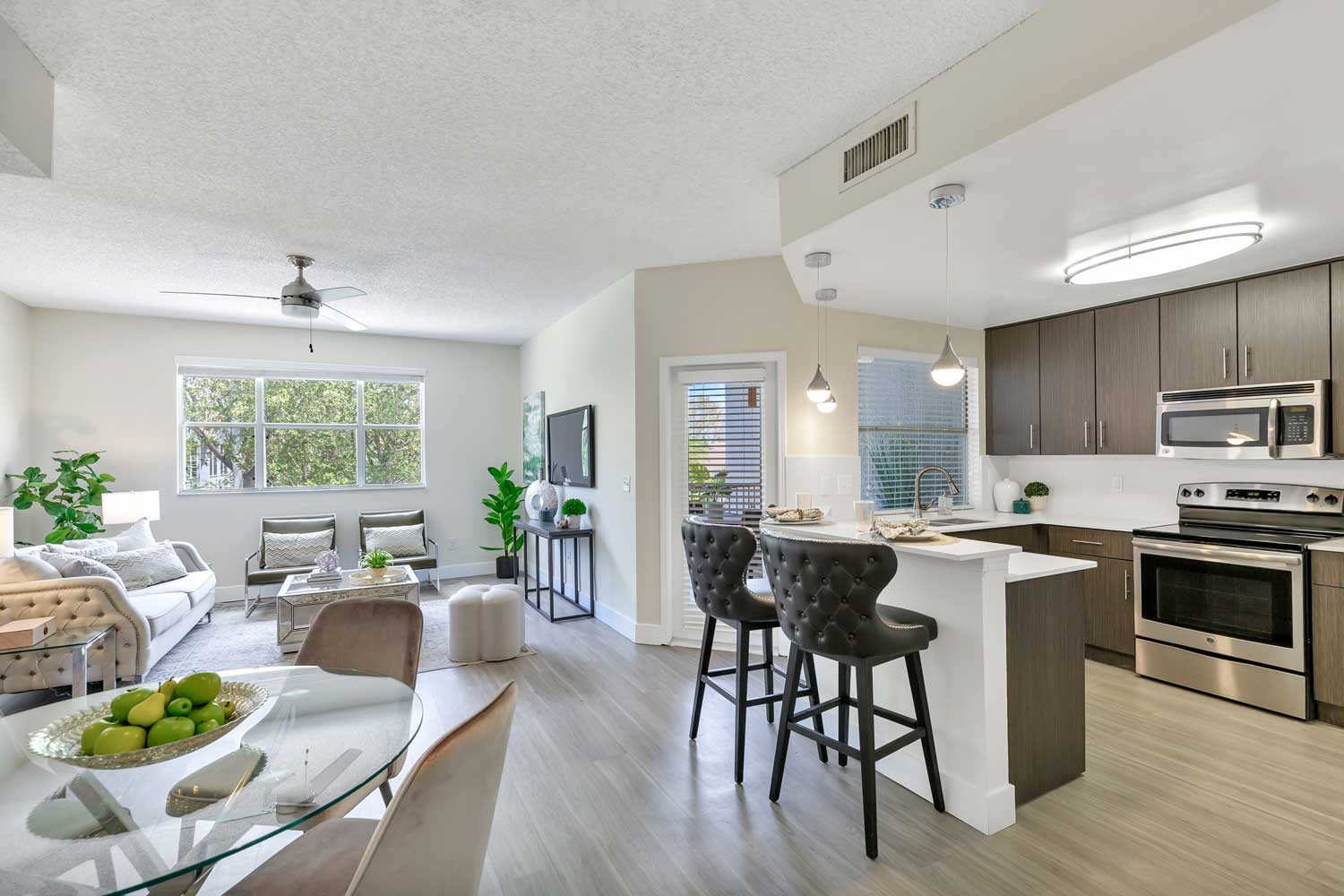 Interior at Windsor Castle Apartments in Coral Springs, Florida