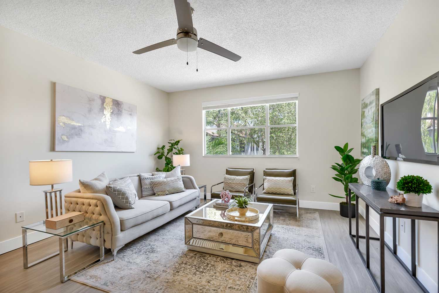 Private Balcony Available at Windsor Castle Apartments in Coral Springs, Florida