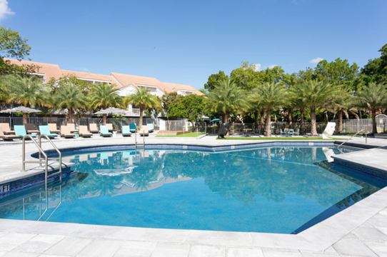 Resort Style Pool at Windsor Castle Apartments in Coral Springs, Florida