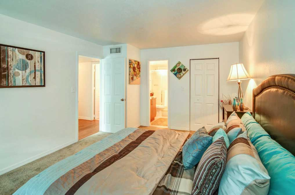 Plush Carpeting at Windsor Forest Apartments in Pompano Beach, FL