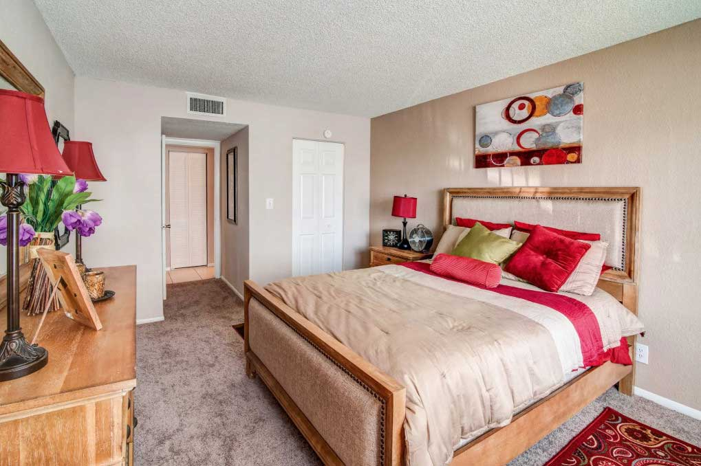 Large Bedrooms at Windsor Forest Apartments in Pompano Beach, FL