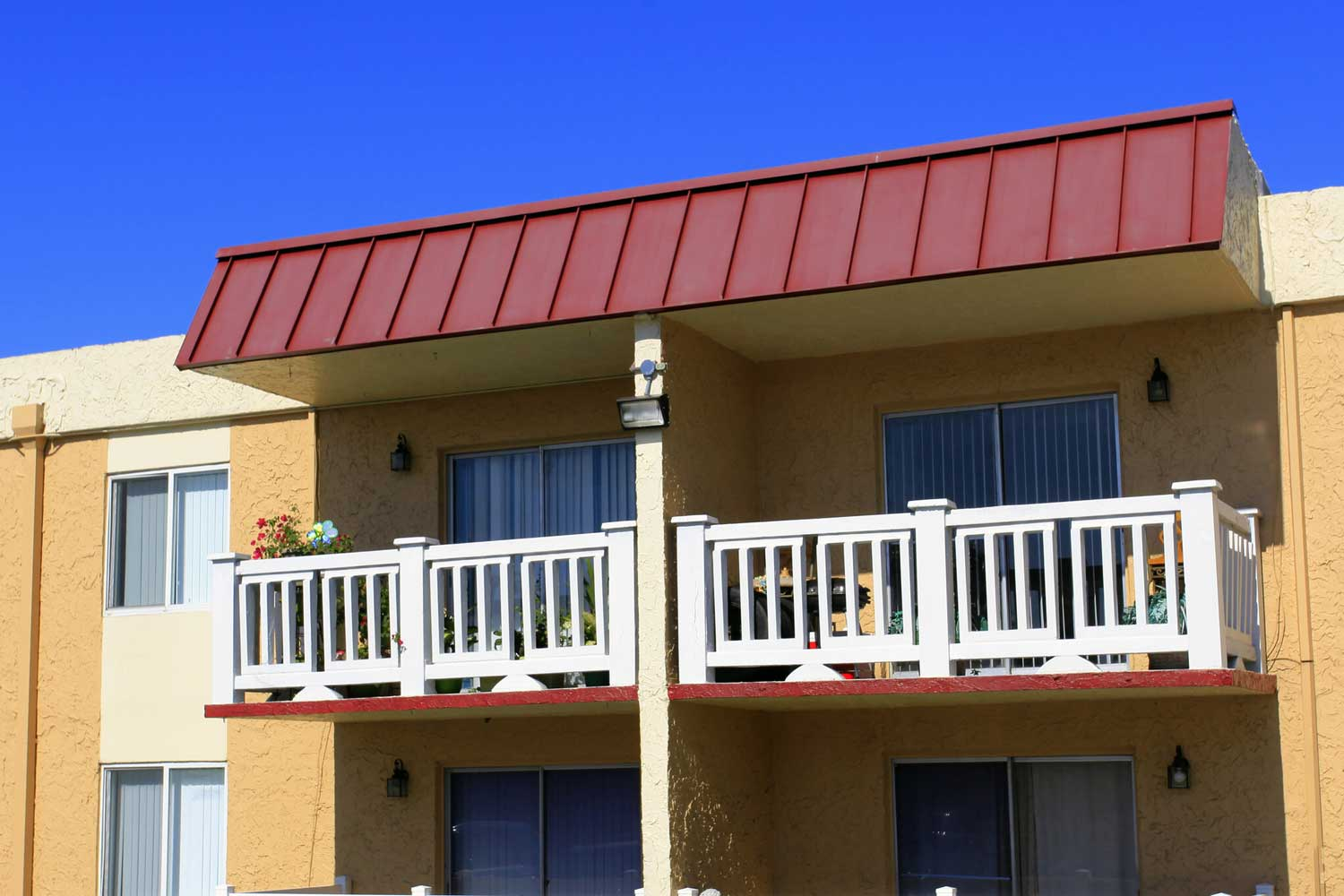 Private Balcony at Windsor Forest Apartments in Pompano Beach, FL