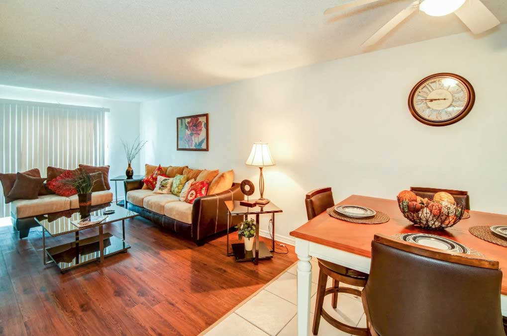 Hardwood Flooring at Windsor Forest Apartments in Pompano Beach, FL