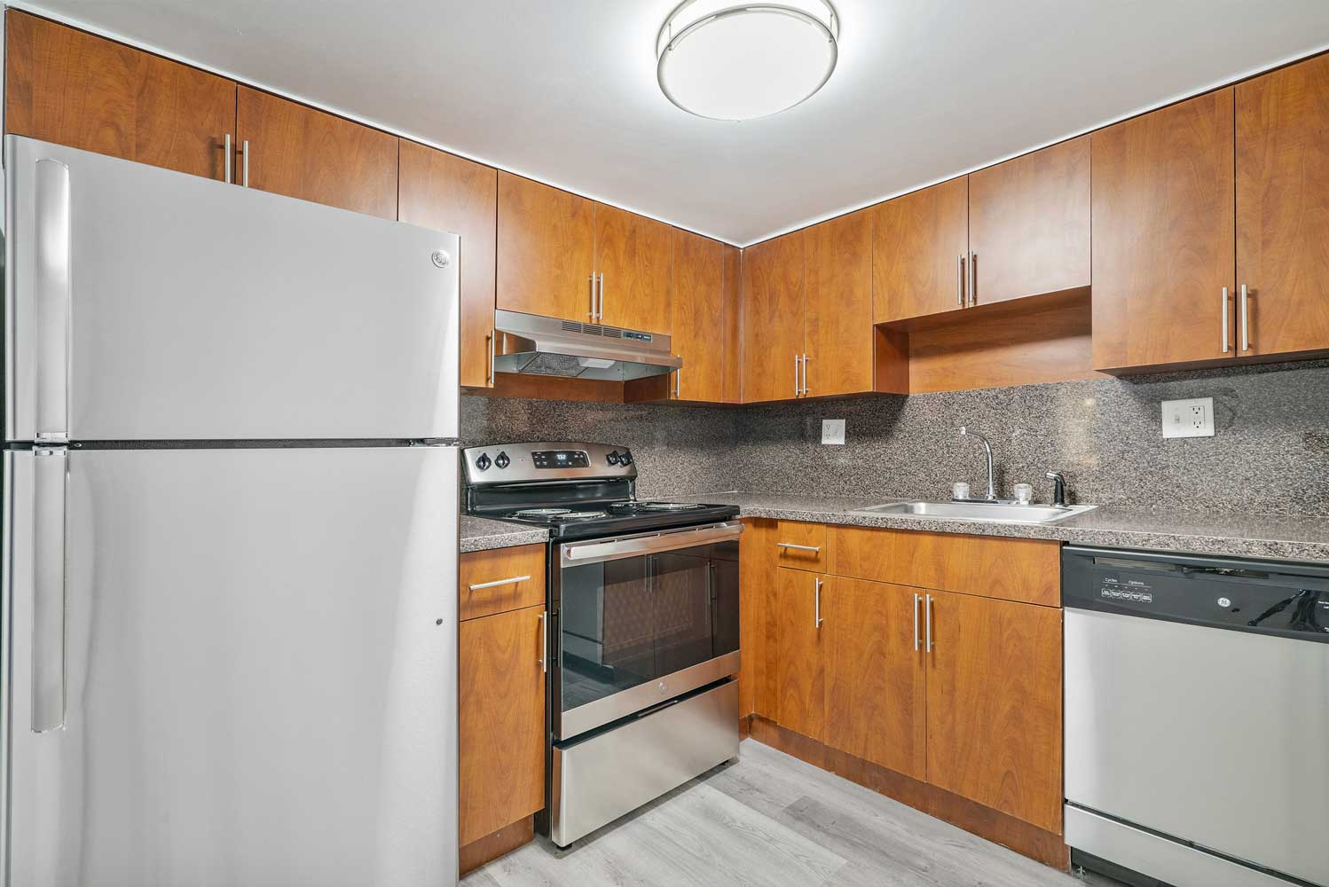 Stainless Steel Appliances at Windsor Forest Apartments in Pompano Beach, FL