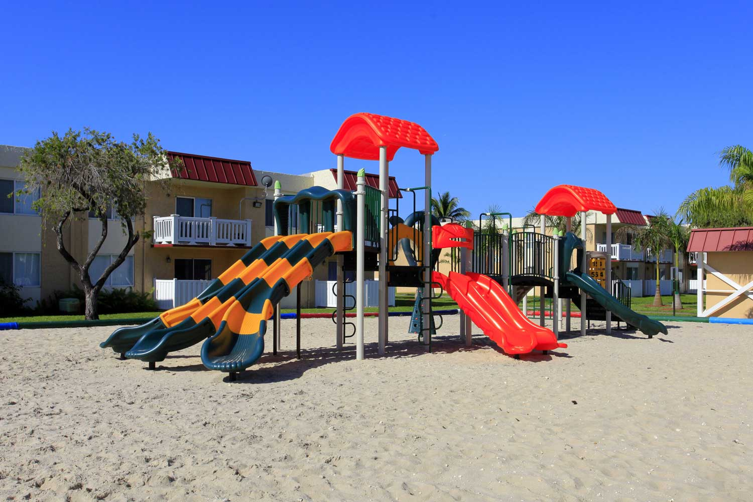 Children's Playground at Windsor Forest Apartments in Pompano Beach, FL