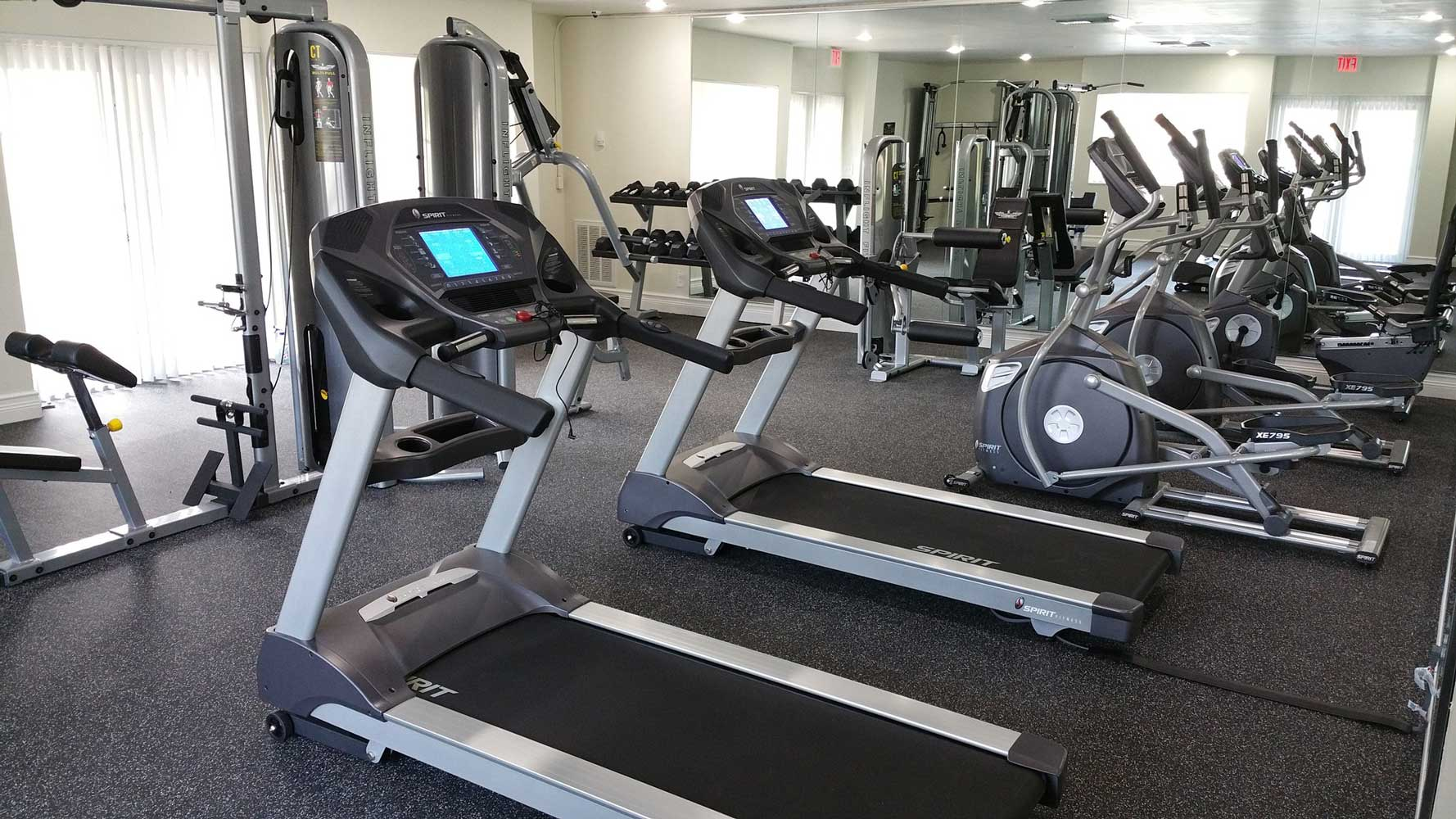 Cardio Equipment at Windsor Forest Apartments in Pompano Beach, FL