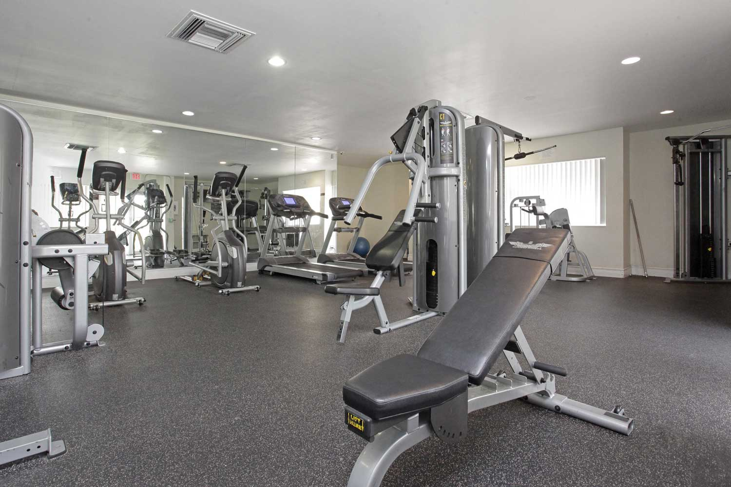 Weight Machines at Windsor Forest Apartments in Pompano Beach, FL