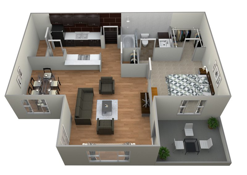 Windsor Park Apartments - Floorplan - A