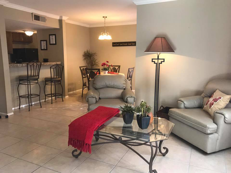 Large Living Areas at Windsor Park Apartments in Victoria, Texas