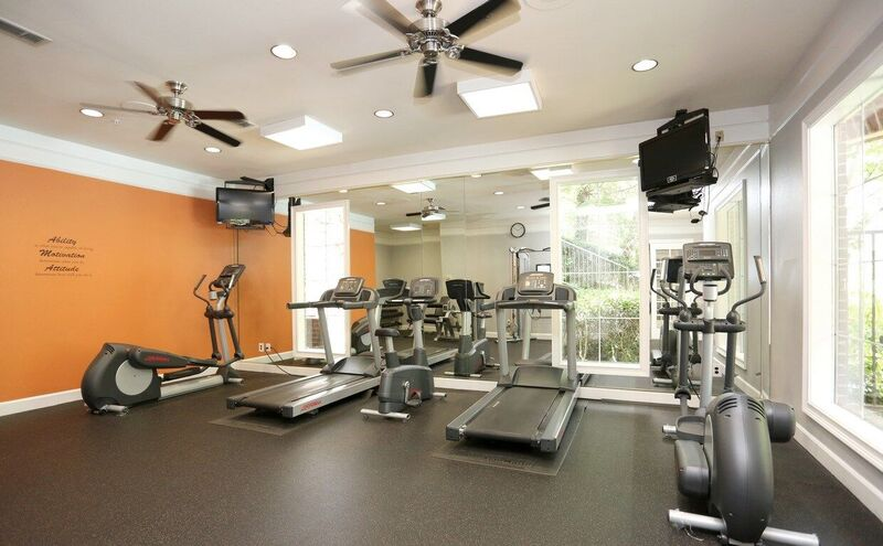 Incredible Fitness Facility at Windward Place Apartments in Alpharetta, Georgia