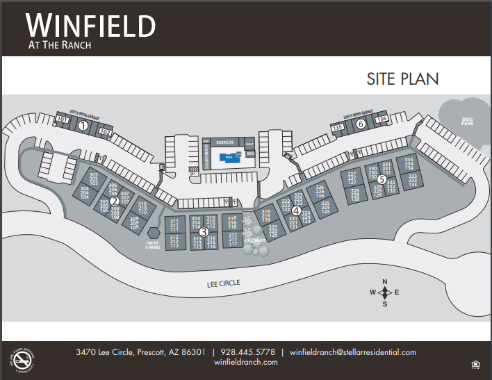 Winfield at the Ranch Site Plan