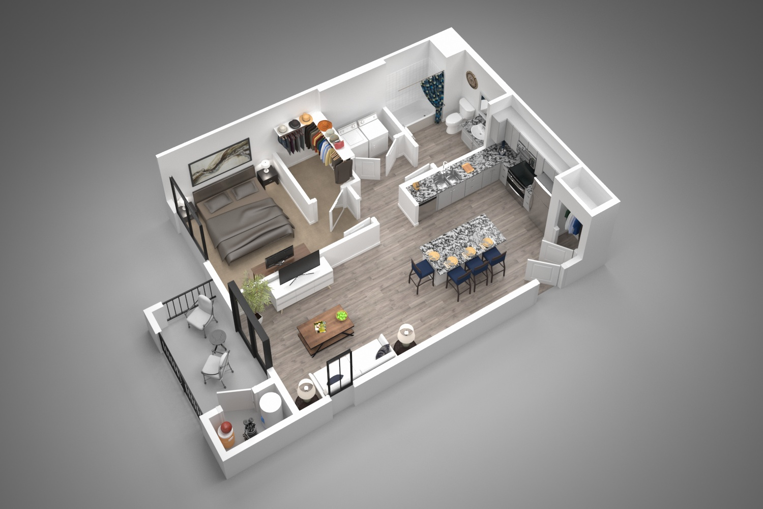 Winfield at the Ranch - Floorplan - 1A