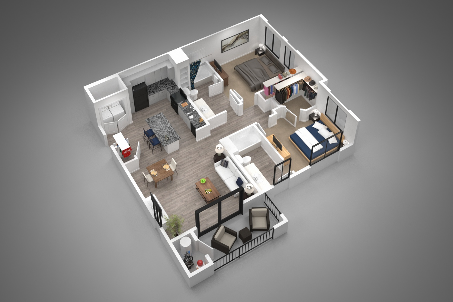 Winfield at the Ranch - Floorplan - 2A
