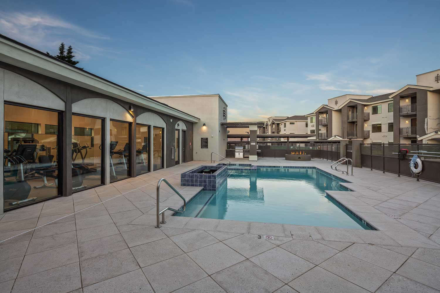 Resort Style Pool at Winfield at the Ranch Apartments in Prescott, AZ