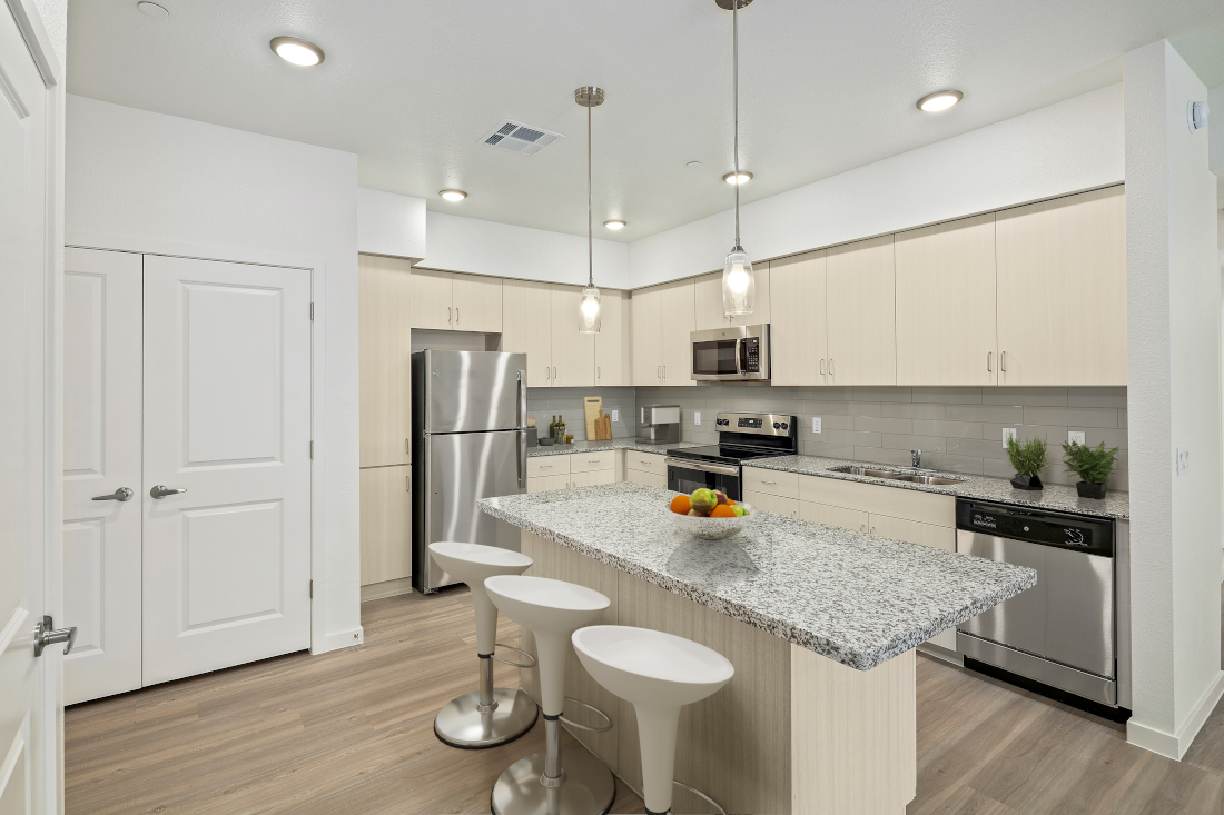 Fully Equipped Kitchen at Winfield at the Ranch Apartments in Prescott, AZ