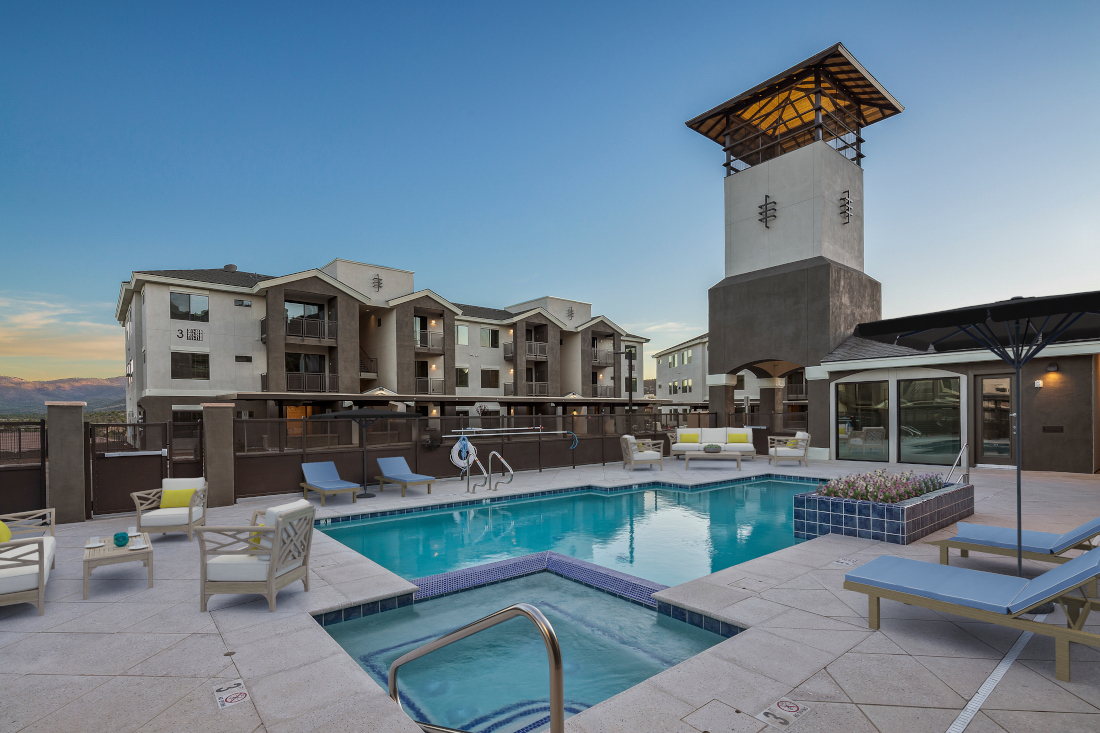 Large Pool at Winfield at the Ranch Apartments in Prescott, AZ