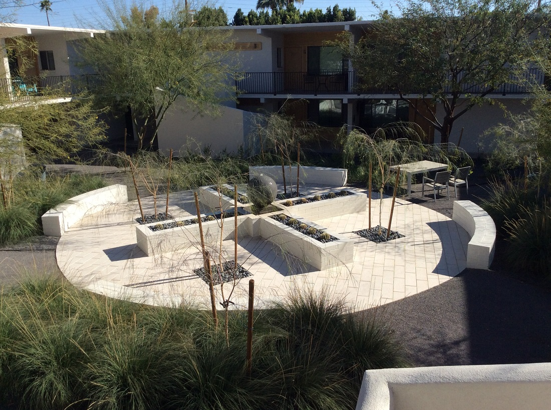 Modernly Designed Recreational Space at The Winfield of Scottsdale Apartments in Scottsdale, Arizona