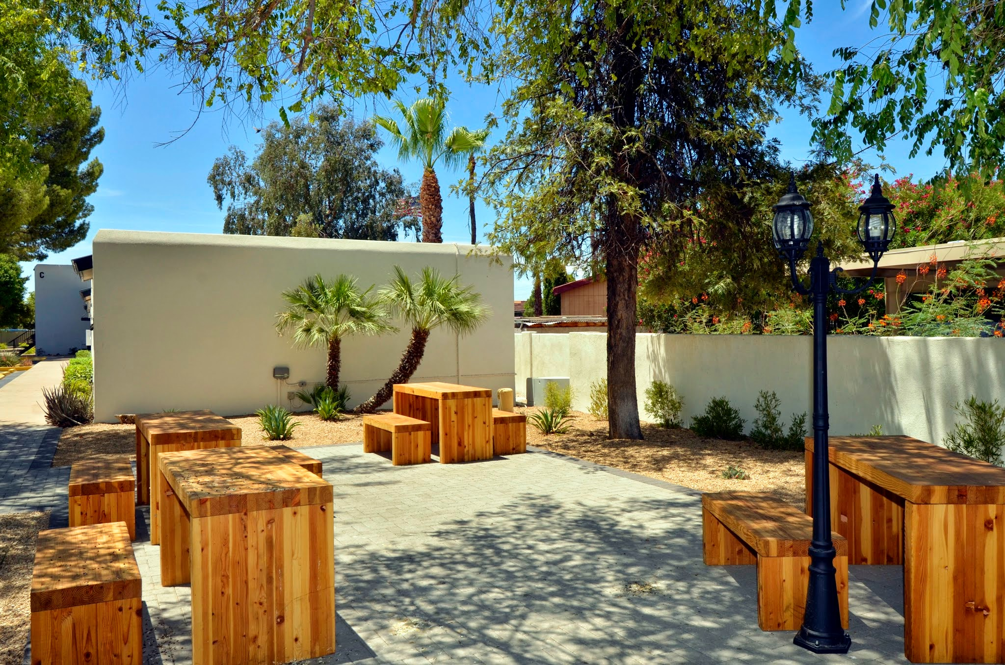 Charming Courtyard at The Winfield of Scottsdale Apartments in Scottsdale, Arizona