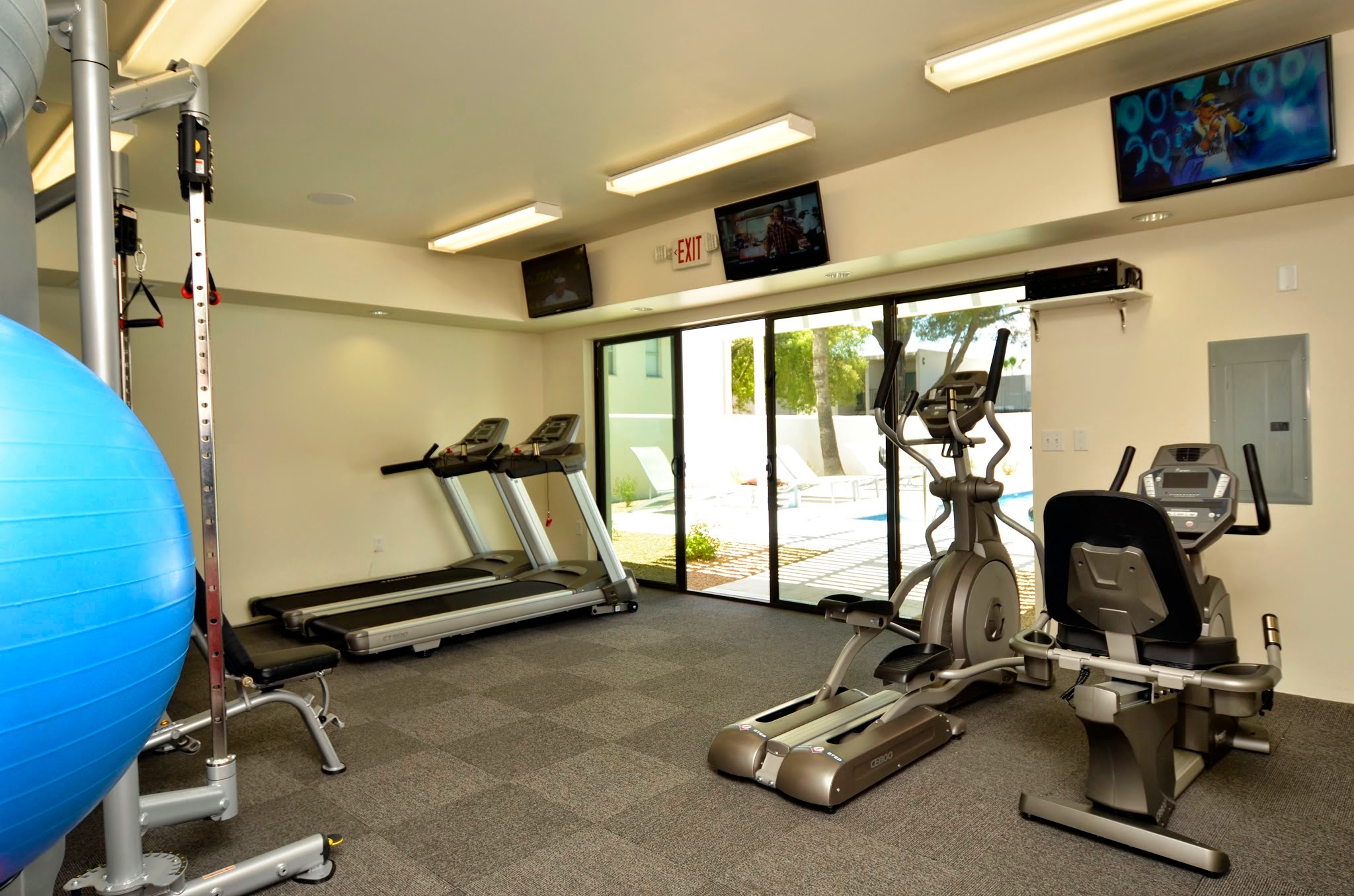 State-of-the-Art Fitness Center at The Winfield of Scottsdale Apartments in Scottsdale, Arizona