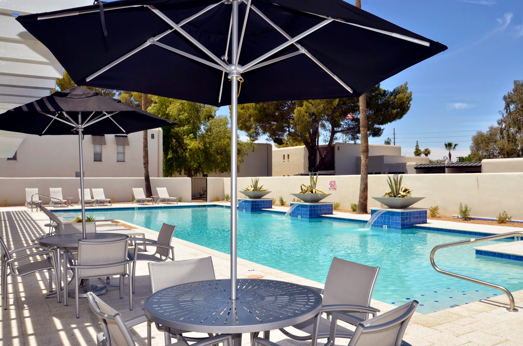 Sparkling Swimming Pool at The Winfield of Scottsdale Apartments in Scottsdale, Arizona