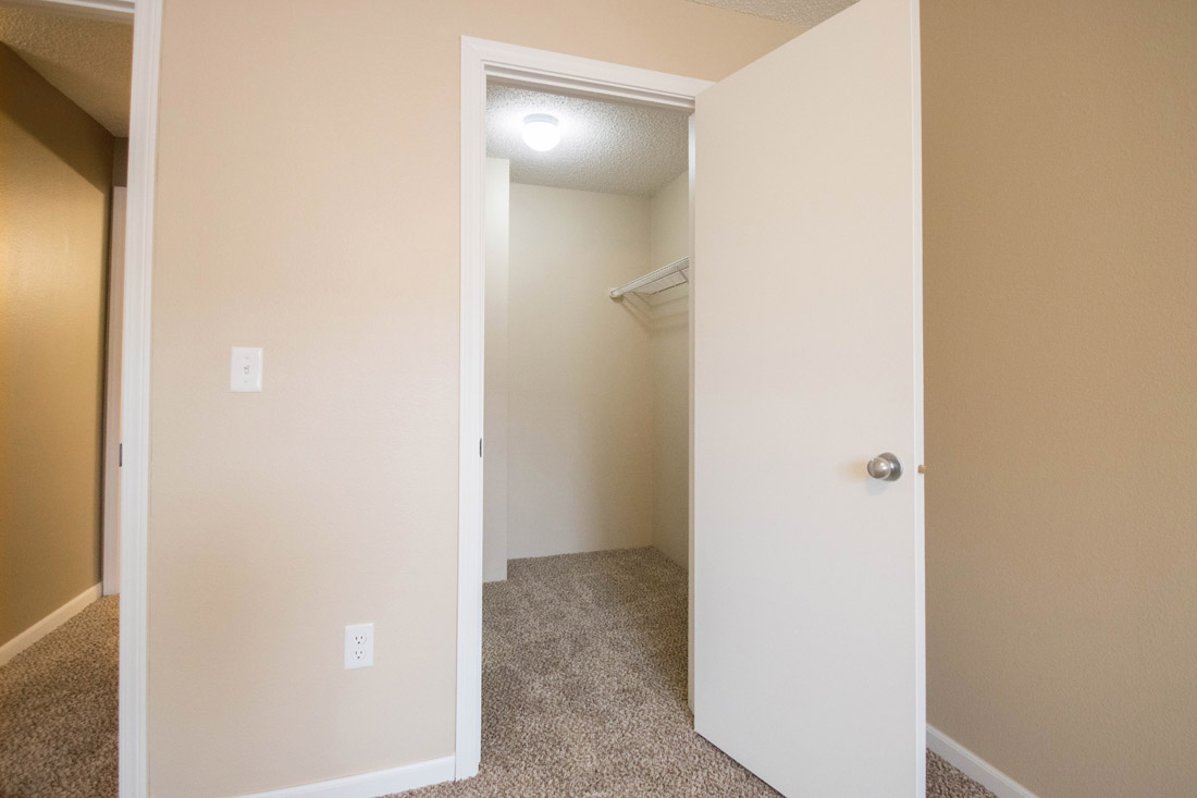 Walk-In Closets at Woodbury Heights Apartments in Sioux City, IA