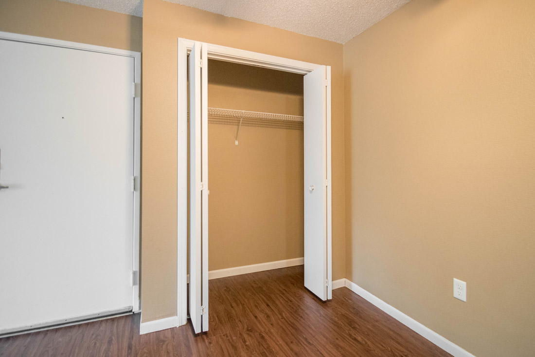 Entry Closet at Woodbury Heights Apartments in Sioux City, IA