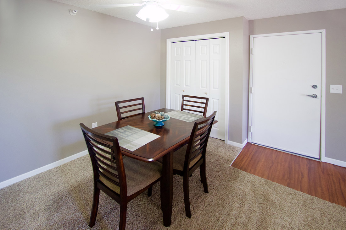Separate Dining Room at Woodbury Heights Apartments in Sioux City, IA