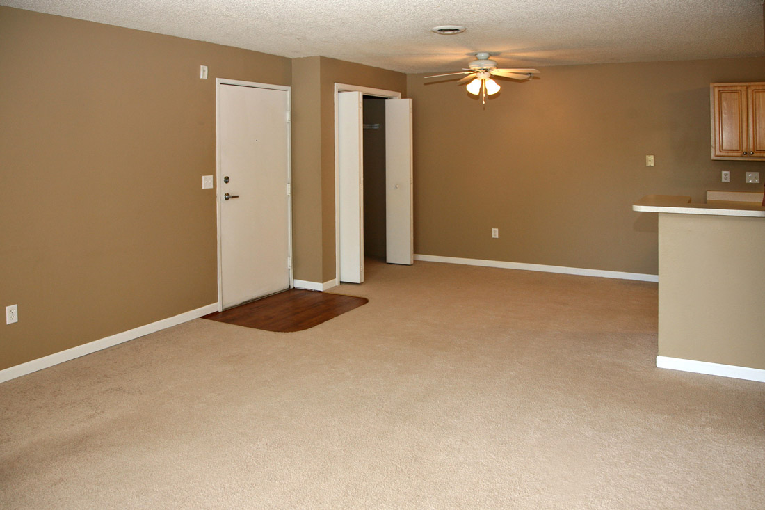 Plush Carpeting at Woodbury Heights Apartments in Sioux City, IA