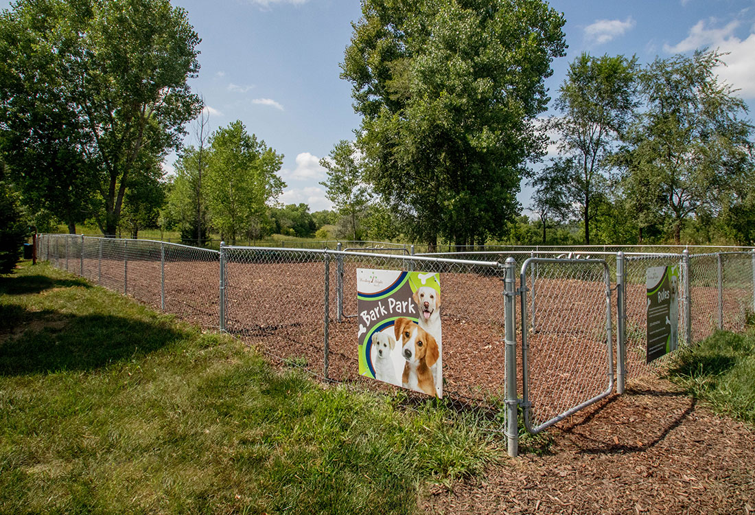 Doggy Bark Park at Woodbury Heights Apartments in Sioux City, IA