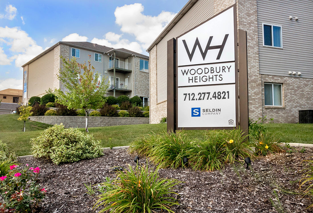 Apartments for Rent in Sioux City at Woodbury Heights Apartments in Sioux City, IA