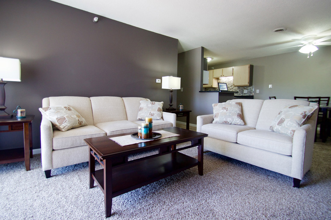 Spacious Floor Plans at Woodbury Heights Apartments in Sioux City, IA