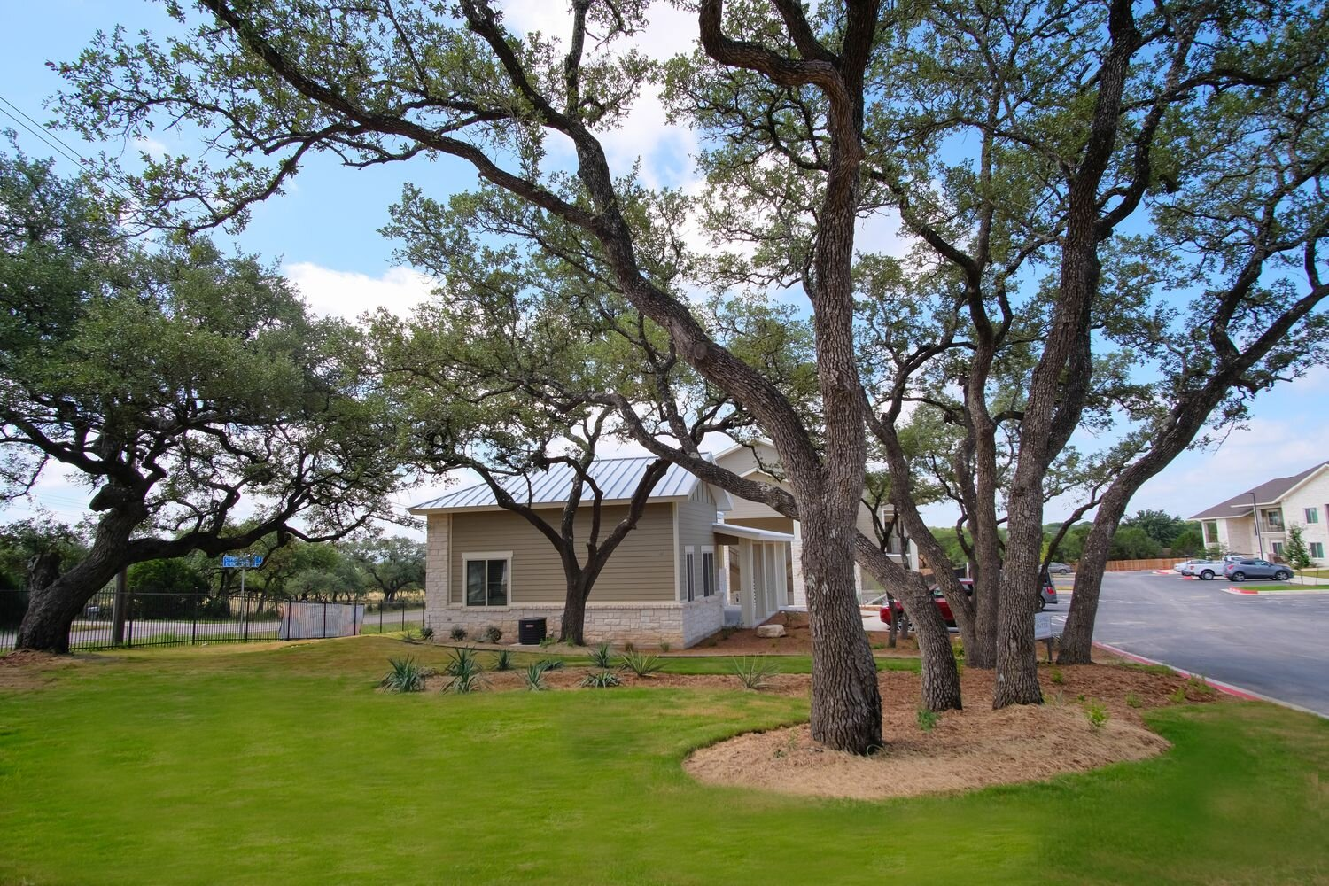 Pet-Friendly Apartments at Woodcreek Apartments in Woodcreek, Texas