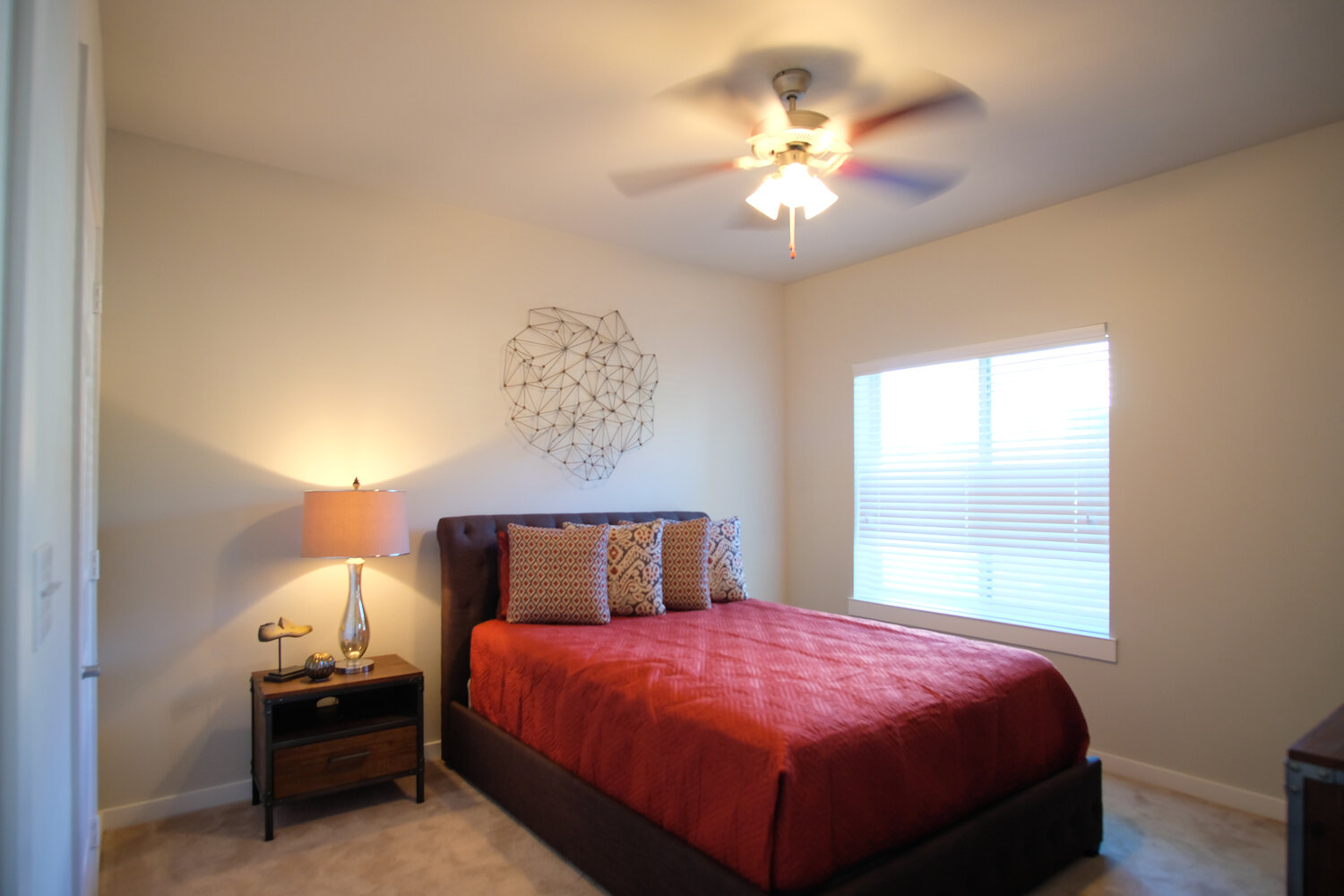 Ceiling Fans at Woodcreek Apartments in Woodcreek, Texas
