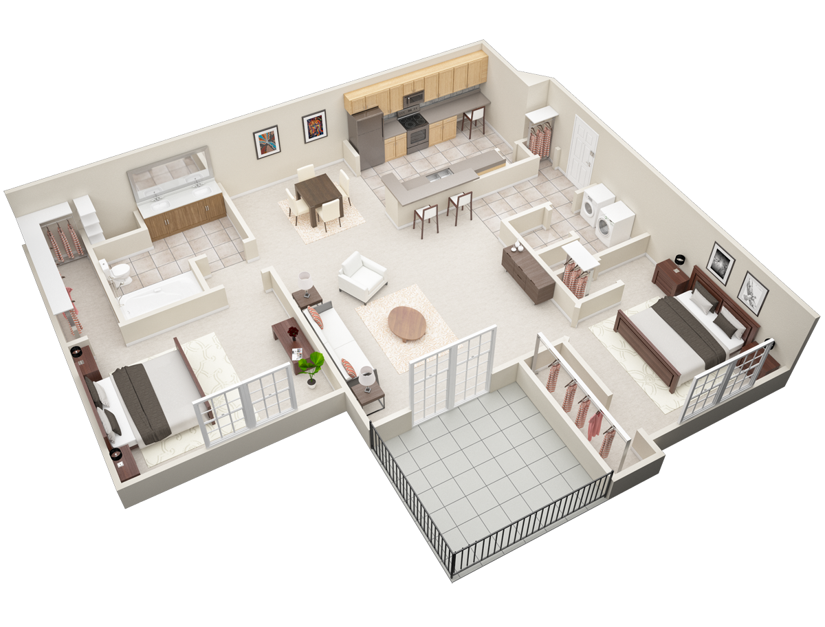 Floorplan - B1-Laurel image