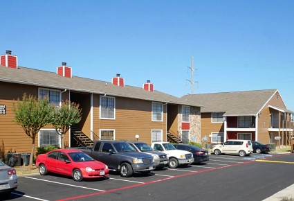 Ample Parking Space at The Woodlands Apartments in Fort Worth, Texas