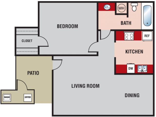 Woodlands - Floorplan - Osage Plains