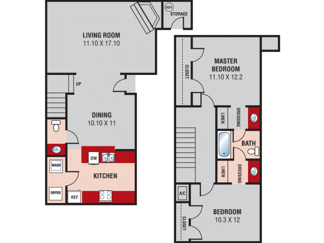 Floorplan - South Plains image