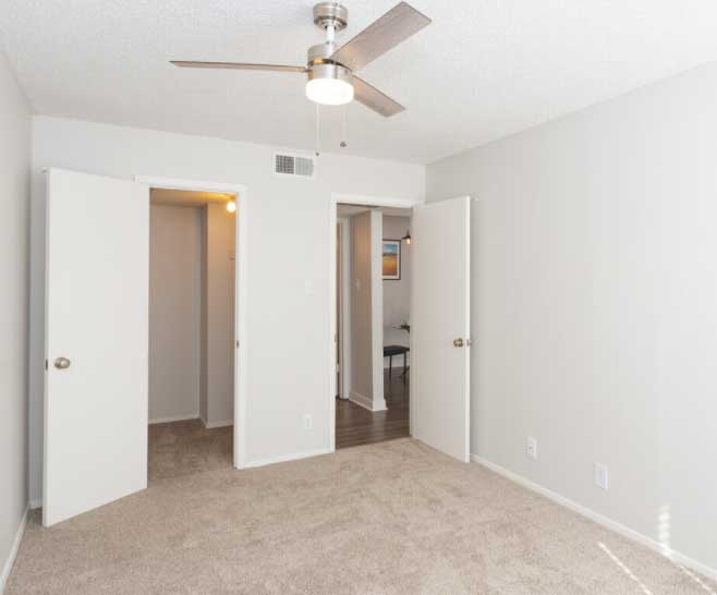 Interior at Woodlands Apartments in Odessa, Texas