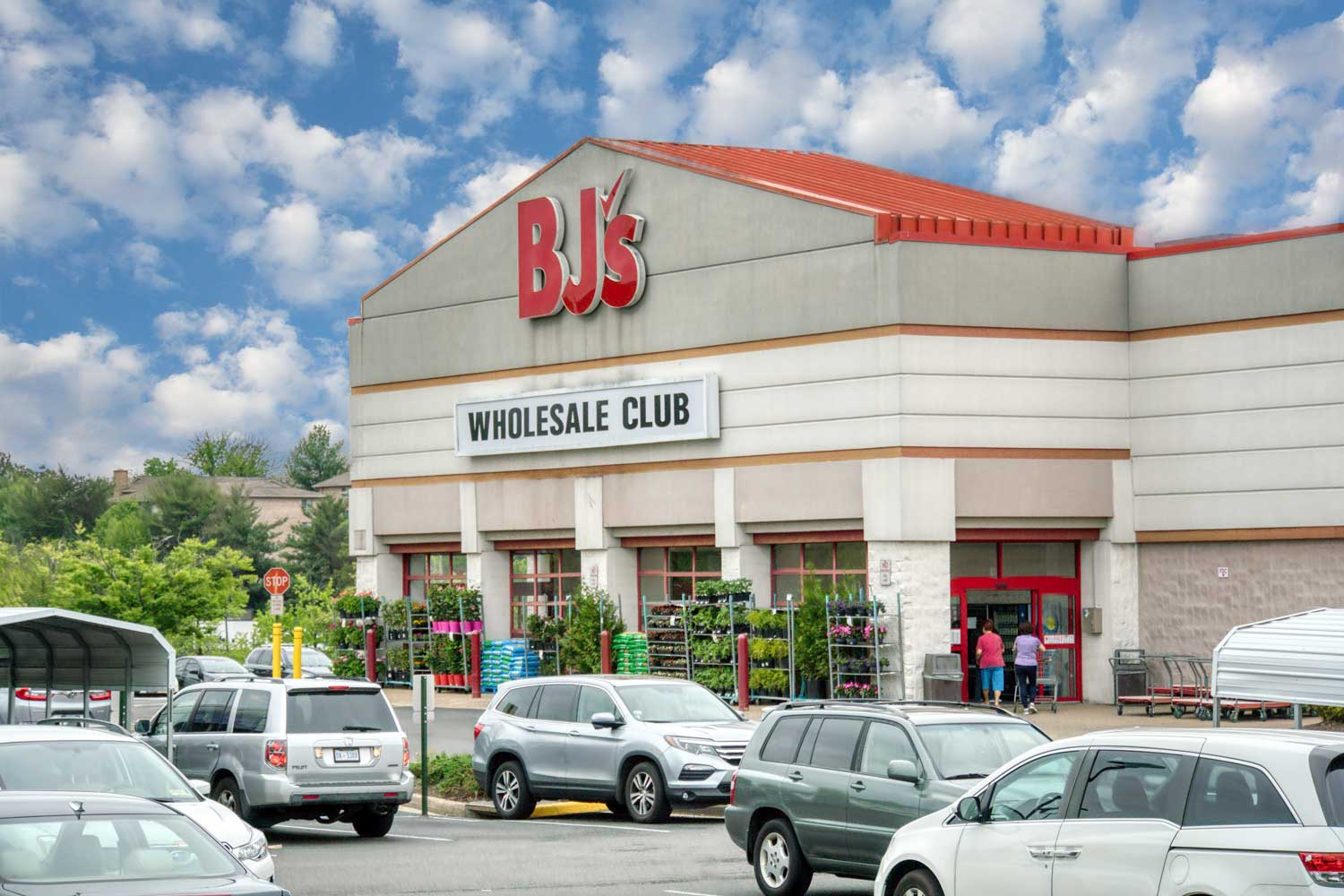 BJ's Wholesale Club is 5 minutes from Woodmont Park Apartments in Alexandria, VA