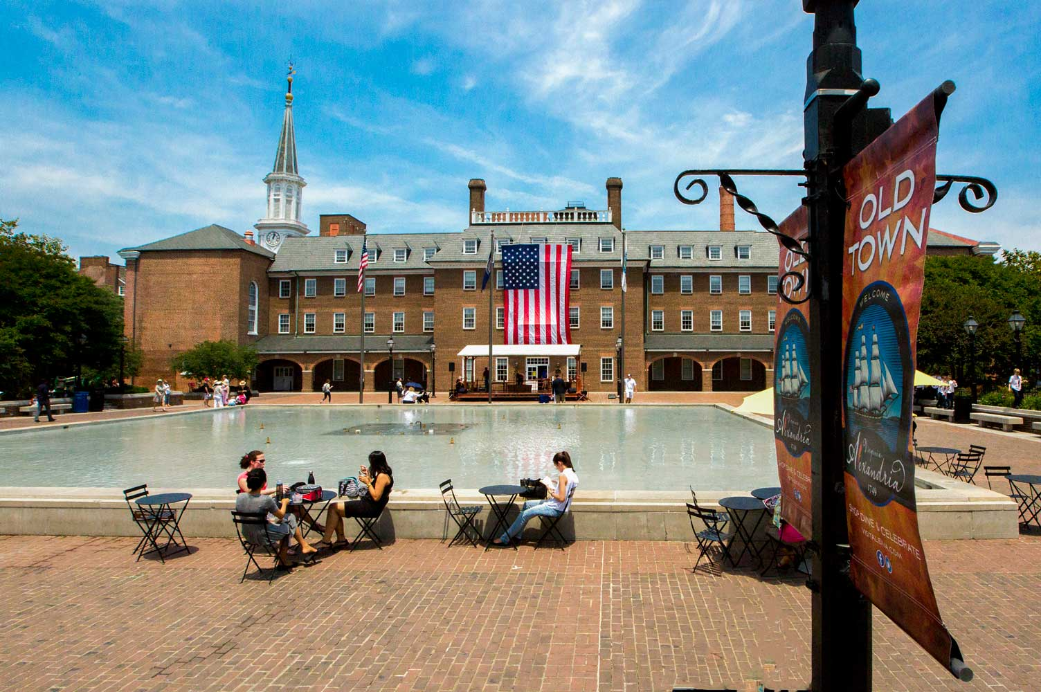 Old Town Alexandria is 15 minutes from Woodmont Park Apartments in Alexandria, VA