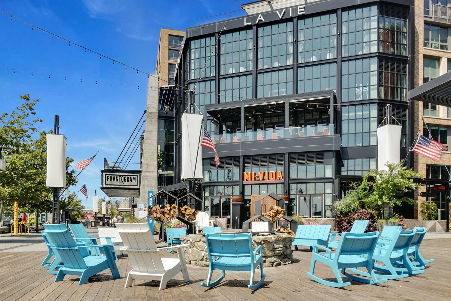 15 minutes to dining and entertainment at The Wharf DC