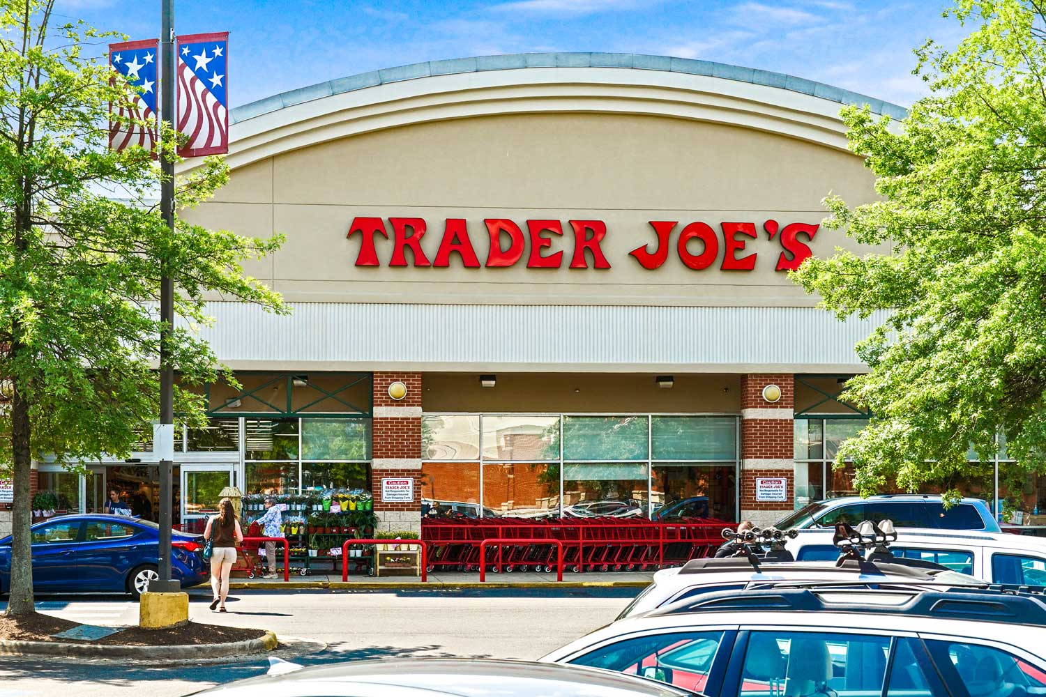 Trader Joe's is 10 minutes from Woodmont Park Apartments in Alexandria, VA