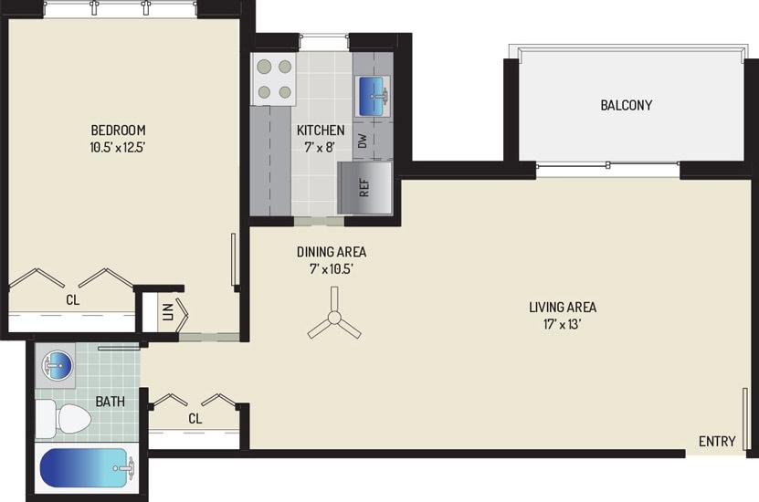 Woodmont Park Apartments - Apartment 405514-202-A2