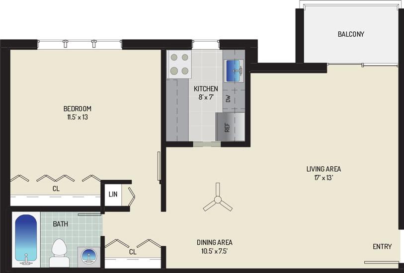 Woodmont Park Apartments - Apartment 405560-304-C2